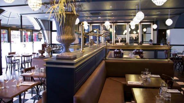 Salle du restaurant - Brasserie Centrale, Paris-15E-Arrondissement