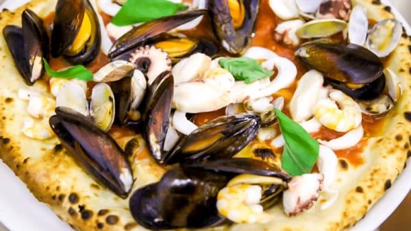 Pizza ai frutti di mare - Il Paiolo, Perugia