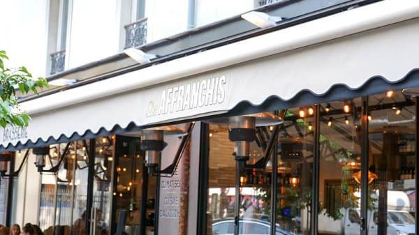 Devanture - Les Affranchis, Paris-13E-Arrondissement