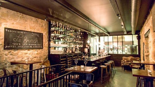Vue de la salle - Vino e Cucina, Paris