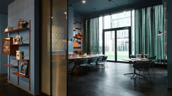 doorkijk private dining - Restaurant Fitzgerald, Rotterdam