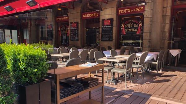 Terrasse - le Café de Saint-Malo, Saint-Malo