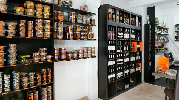 Vue de la salle - Canard & Co, Paris