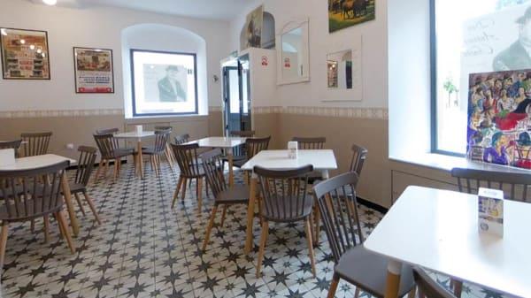 Vista de la sala - Charcos Pizza, Jerez De La Frontera