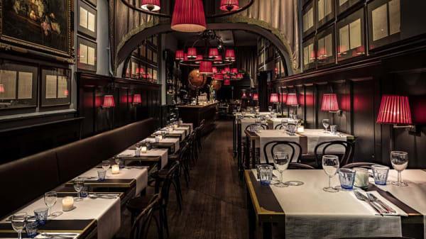 Het restaurant - van Puffelen., Amsterdam