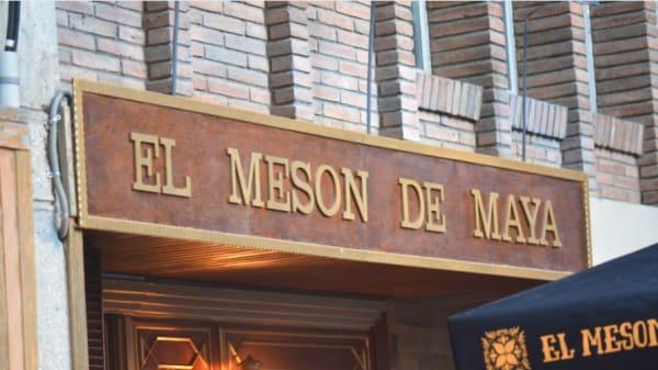 El mesón de Maya, Barcelona