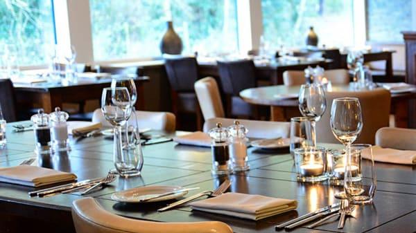 Detail van de tafel - BOSQ - the spirited restaurant, Den Hoorn (Texel)