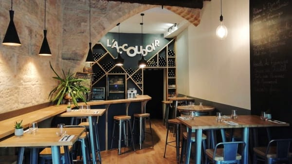 Salle du restaurant - L'Accoudoir, Montpellier