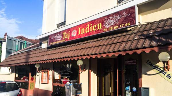 Façade du restaurant - Taj Indien, Maisons-Laffitte