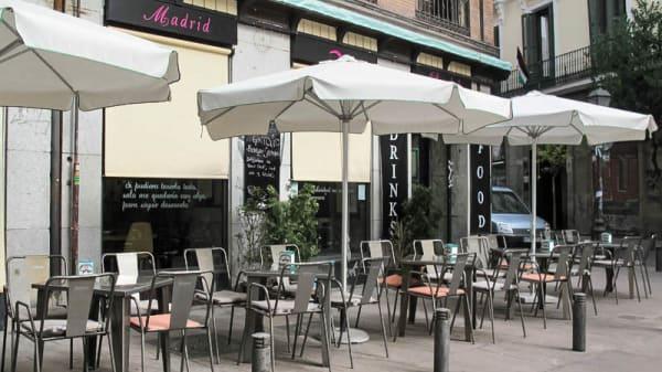 terraza-entrada - Madrid-Dada, Madrid