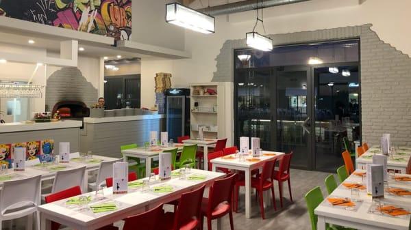 Vista sala - PIZZ'ART L'Arte Della Pizza, Roma