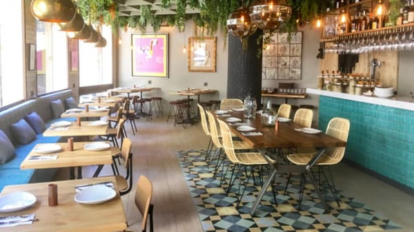 Sala del restaurante - Telefèric - Born, Barcelona