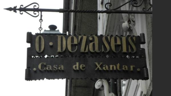 entrada - O Dezaseis, Santiago de Compostela