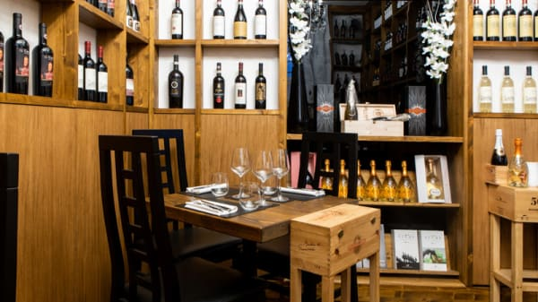 Vista sala - Salino Restaurant & Wine Bar, Firenze