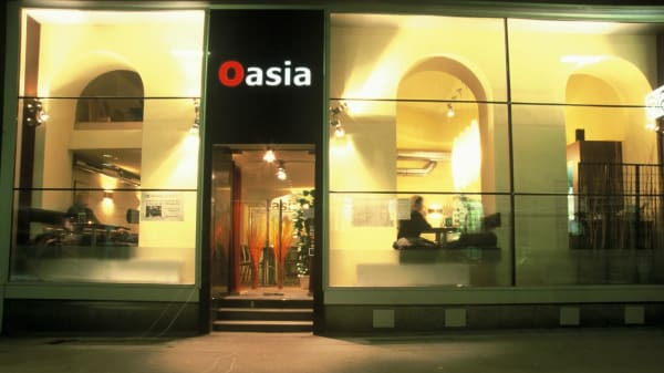 Fassade - Oasia, Wien