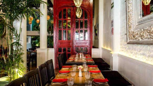 Vista del interior - Daeng Asian Kitchen, Ciudad de México