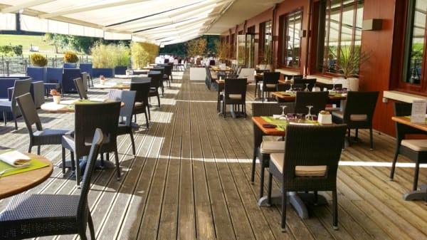 Terrasse du Restaurant - L'Orée - Hôtel Best Western L'Orée, Saulx-les-Chartreux