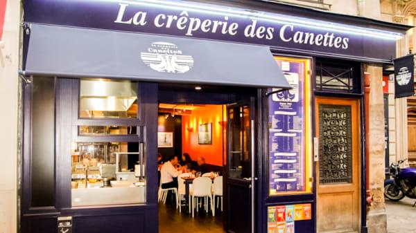 Devanture - Crêperie des Canettes, Paris