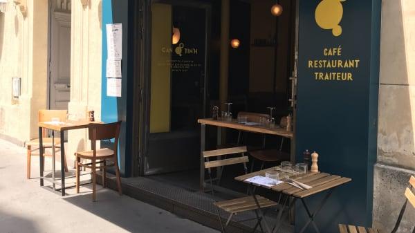 Terrasse - Cantin'h, Paris