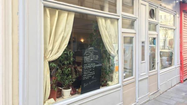 Devanture - Les Oudayas, Paris