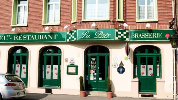 Vue devanture - Restaurant de la Paix, Albert
