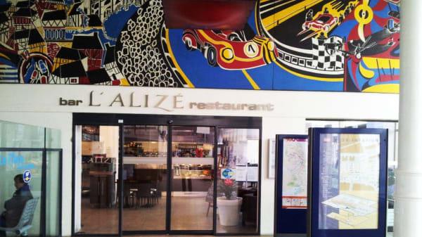 Entrée - L'Alizé, Le Mans