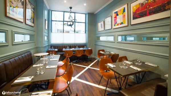 Salle du restaurant - Racines des Prés, Paris