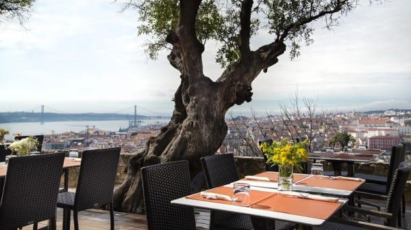 Esplanada - Casa do Leão – Castelo de São Jorge, Lisbon