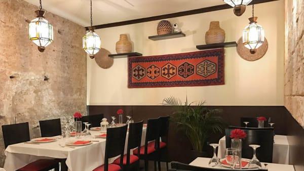 Vista sala - Alcazar Halal Resturante, Sevilla