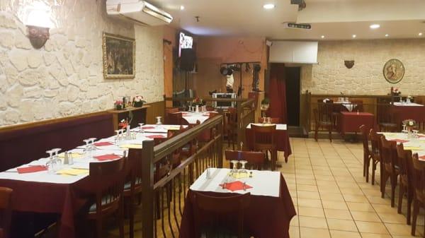 Vue de la salle - Pizza Santa Maria, Juvisy-sur-Orge