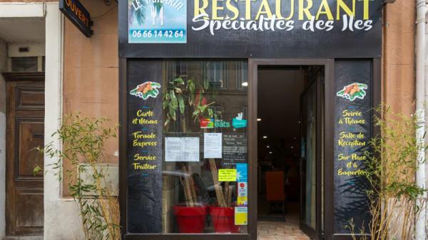 Devanture - Le Tamarin, Marseille
