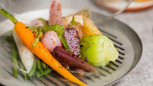 Assiette de légumes - Les Tantes Jeanne, Paris