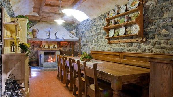 Vista sala - Ristorante Grigna