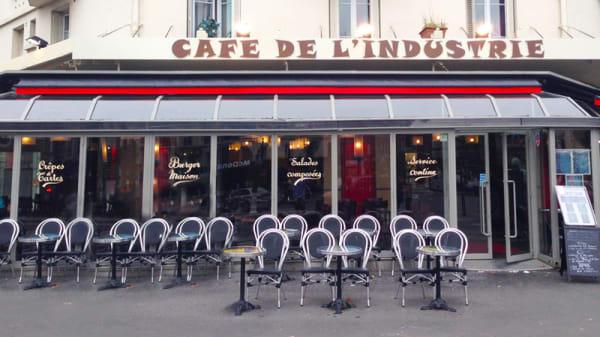 terrasse de l'industrie - Café de l'Industrie, Paris