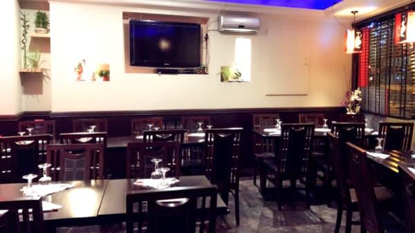 Vue de la salle - Oky Sushi, Issy-les-Moulineaux