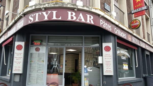 devanture - Styl Bar, Rouen