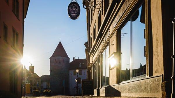 Devanture de l'Hôtel de Ville - Restaurant de l'Hôtel de Ville d'Yverdon-les-Bains, Yverdon-les-Bains