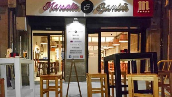 Entrada - Marsala & Bambú, Vigo