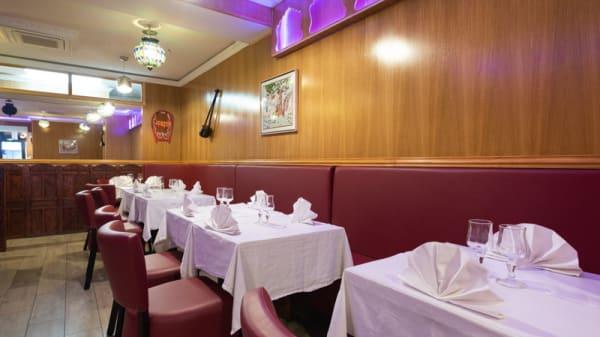 Salle du restaurant - Le Kashmir, Paris