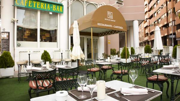 Vista entrada - Cafetería - Hotel Granada Center, Granada