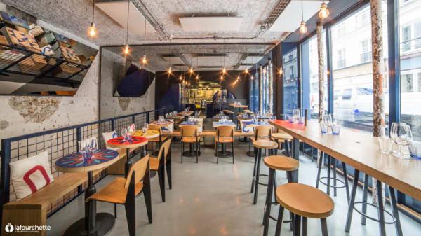 Salle du restaurant - La Marée Jeanne, Paris