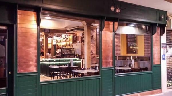 Vista entrada - El Gato Verde - Bier & Coffee Experience, Alcalá de Henares