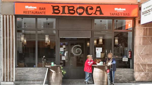 esterno - Biboca, Madrid