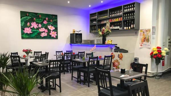 Salle du restaurant - Sen Restaurant, Paris