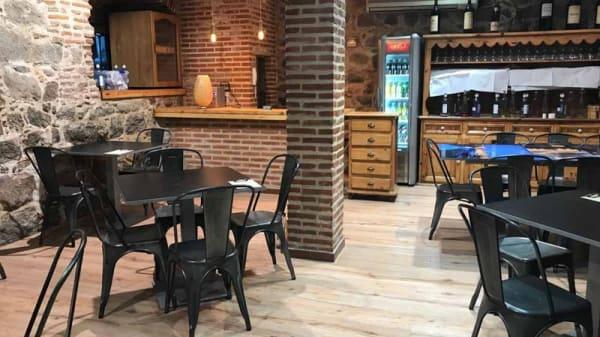 Sala del restaurante - Vermuteria el atrio, Ávila