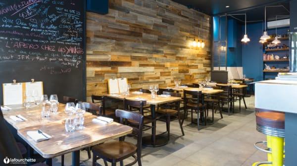 Salle du restaurant - Le Bistrot du Potager #2, Lyon
