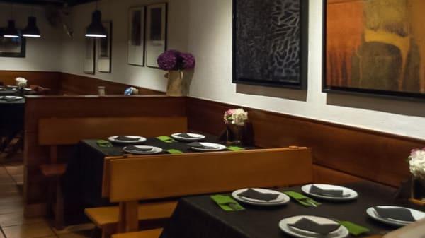 Sala del restaurante - Bocarrana, A Coruña