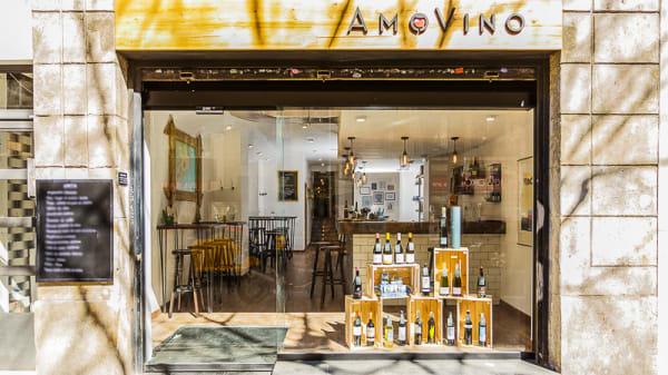 Fachada - AmoVino, Barcelona