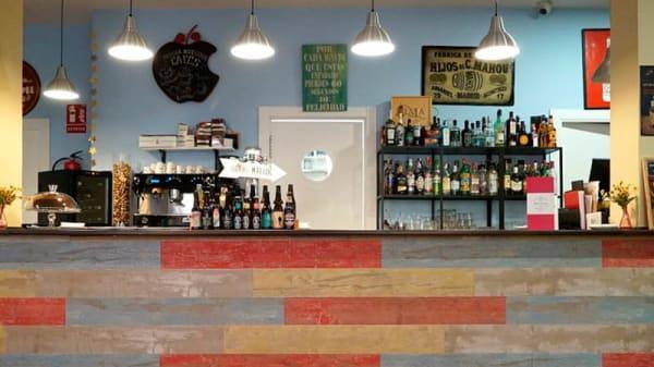 Vista sala - BBIG Delice Café, Madrid