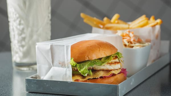Mat - Phils Burger Birger Jarlsgatan, Stockholm